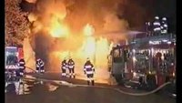 Flashover at Berlin store fire