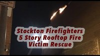 Helmet cam: Calif. roof fire with radio traffic