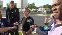 Off-duty paramedic, community come to injured CHP officer's aid
