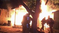 Early video: Calif. guest house fire