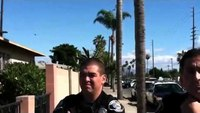 Santa Ana police respond to open carry activist