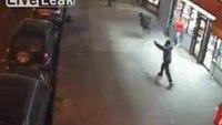 NY shooting caught on camera