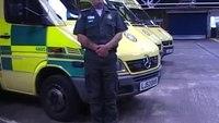 UK medic croons in reverberating ambulance station