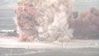 Rocket fuel blast rocks firefighters