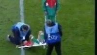 World Cup stretcher fail