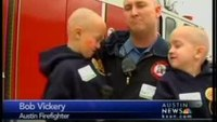 Texas FFs shave heads for cancer