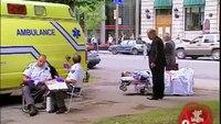 Paramedics on break