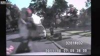 Police shoot knife-wielding woman