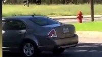 Gunfire erupts as officers rush gunman in Texas LODD