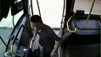 Violent assault on bus driver
