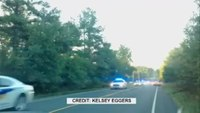 Police pursue hijacked school bus
