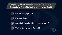 4 ways to cope after the death of a child during a call
