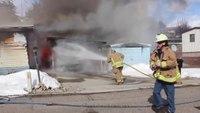 Fire At Pioneer Village In Weiser Idaho