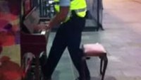 Officer entertains with piano