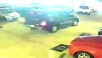 Car thief rams cop car then escapes