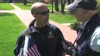 Cop who lost son in Afghanistan reacts