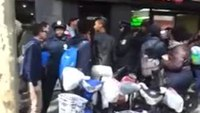 NY cops arrest rowdy teens after brawl