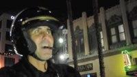 Long Beach motorcycle officer tries an electric Zero bike