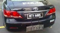 New Malaysian 2011 Concept RMP Patrol Car Featuring a Setina Push Bumper