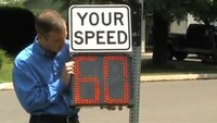 How to Use the Shield Radar Speed Display Sign Onboard Buttons