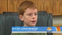 Boy donates savings to police