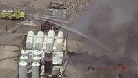 Reality Training: Oil storage facility fire