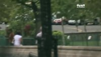 Footage of D.C. shooting incident