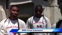 EMS students reflect on door-to-door screenings