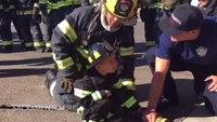 Calif. boy celebrates 5th birthday as firefighter