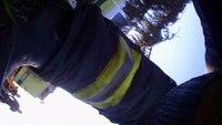 Helmet Cam: House fire in N.J.