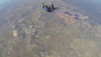 Skydiver suffering seizure rescued mid-air