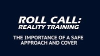 Reality Training: 4 tips for a safe approach and cover