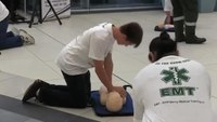 EMT CPR flash mob