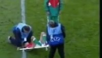 World Cup stretcher fail