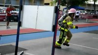 Black Helmet Apparel Participates in the Firefighter Combat Challenge