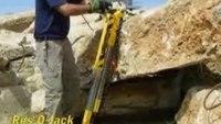 Res-Q-Jack Demonstration - Rock Lifting