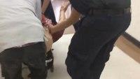 Students fumble through EMT transport scenario