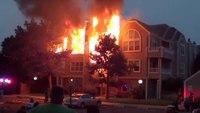 Condominium fire quadruples in size