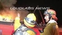 Second-alarm strip mall fire