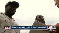 Dozens petition to keep ambulance billing in Kansas City