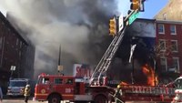 Blaze tears through Pa. clothing store