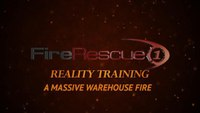 Reality Training: Massive warehouse fire