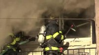Second-alarm fire in Pa.