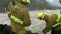 Shell Fire in Ventura, Calif.