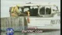 Boat training exercise gone wrong