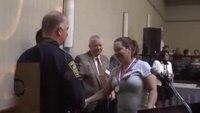 EMT recognized for cardiac arrest save