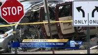 Milwaukee firefighter in custody for fatal crash