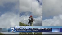 Hawaii firefighter seriously injured after fall