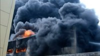 Hundreds of firefighters tackle China chemical plant fire