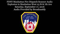 FDNY Manhattan Fire Dispatch Scanner Audio